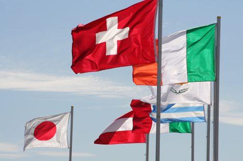 Taux d'imposition à la baisse au niveau international